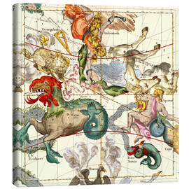Ignace Gaston Pardies - Celestial Atlas, plate 2