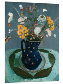 Foam board print  Flower bouquet - Paula Modersohn-Becker