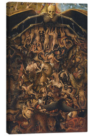Canvas  The Last Judgment - Jan van Eyck