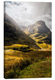 Canvas print  Glencoe Valley Scotland - Sören Bartosch