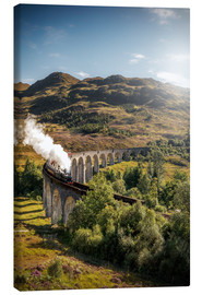 Canvas print  Glenfinnan viaduct in Scotland - Sören Bartosch