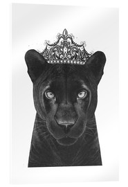 Acrylic print  Queen Panthers - Valeriya Korenkova