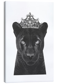 Canvas print  Queen Panthers - Valeriya Korenkova