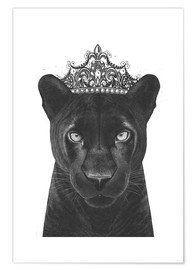 Premium poster  Queen Panthers - Valeriya Korenkova
