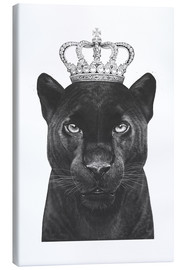 Canvas print  The King panthers - Valeriya Korenkova