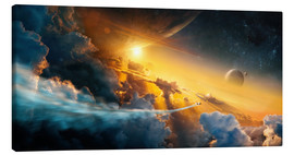 Canvas print  Edge of Dawn - Tobias Roetsch