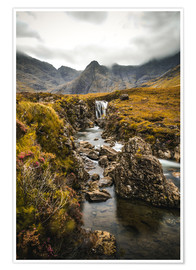 Premium poster  Fairy Pools, Isle of Skye - Sören Bartosch