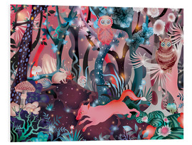 Foam board print  Magic forest - Ella Tjader