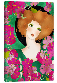 Canvas print  Zodiac sign Virgo - Ella Tjader