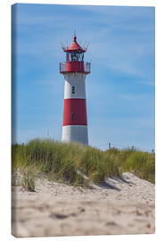 Canvas print  Striped lighthouse - Heiko Mundel