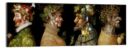 Acrylic glass  The four Seasons - Giuseppe Arcimboldo