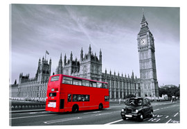 Art Couture - Red bus on Westminster Bridge