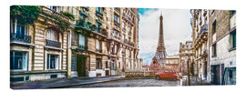 Canvas print  Parisian charm - Art Couture