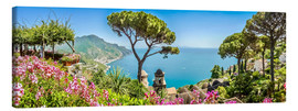 Canvas print  Picturesque coast, Amalfi - Art Couture