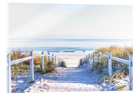 Acrylic print  Dunes way, Sylt - Art Couture