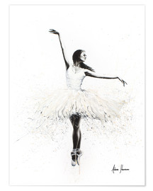 Premium poster  The white swan - Ashvin Harrison