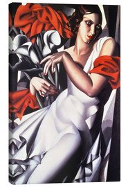 Canvas  Portrait of Ira P. - Tamara de Lempicka